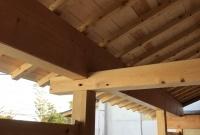 蔵の下屋根